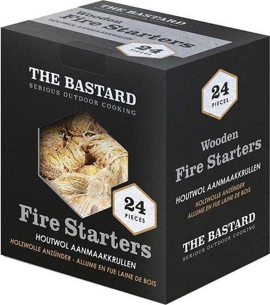 The Bastard Wooden Fire Starters 24st 350gr 1